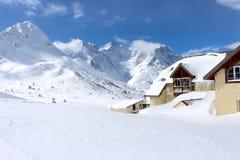 Βουνό χιονιού Στοκ εικόνες με δικαίωμα ελεύθερης χρήσης