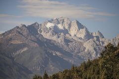Βουνό χιονιού Στοκ Εικόνες