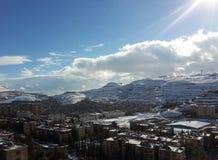 Βουνό χιονιού Στοκ φωτογραφία με δικαίωμα ελεύθερης χρήσης