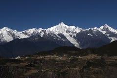 Βουνό χιονιού Meili στοκ εικόνα με δικαίωμα ελεύθερης χρήσης