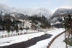 Βουνό χιονιού Xiling Στοκ Φωτογραφίες