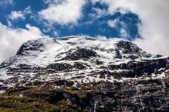 βουνό χιονώδες Στοκ φωτογραφίες με δικαίωμα ελεύθερης χρήσης