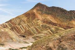 Βουνό χρώματος Στοκ εικόνες με δικαίωμα ελεύθερης χρήσης