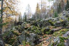 βουνό δύσκολο Στοκ Φωτογραφίες