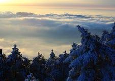 βουνό 2 κίτρινο Στοκ Φωτογραφίες