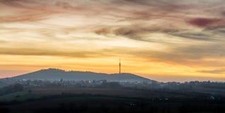 Βουνό Avala σε Βελιγράδι, Σερβία Στοκ Εικόνες