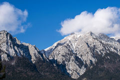 Βουνό Caraiman, Bucegi, Ρουμανία Στοκ Εικόνα