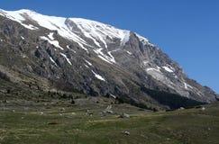 βουνό castelluccio Στοκ Εικόνες