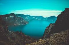 Βουνό Changbai λιμνών Στοκ φωτογραφία με δικαίωμα ελεύθερης χρήσης