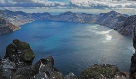 Βουνό changbai της Κίνας το φθινόπωρο Στοκ φωτογραφίες με δικαίωμα ελεύθερης χρήσης
