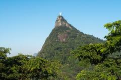 Βουνό Corcovado Στοκ φωτογραφία με δικαίωμα ελεύθερης χρήσης