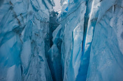 Βουνό Crevasse Στοκ Φωτογραφία