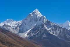 Βουνό Dablum Ama, περιοχή Everest Στοκ εικόνα με δικαίωμα ελεύθερης χρήσης