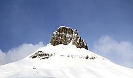 βουνό Di fassa Ιταλία val Στοκ φωτογραφίες με δικαίωμα ελεύθερης χρήσης