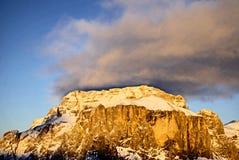 βουνό Di fassa Ιταλία val Στοκ εικόνα με δικαίωμα ελεύθερης χρήσης