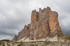 βουνό Di lavaredo Στοκ φωτογραφία με δικαίωμα ελεύθερης χρήσης
