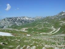 βουνό durmitor Στοκ φωτογραφία με δικαίωμα ελεύθερης χρήσης