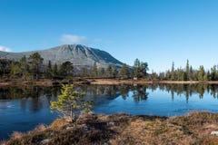 Βουνό Gaustatoppen στοκ εικόνες