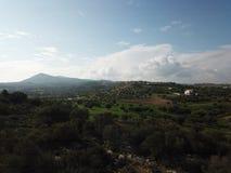 Βουνό geraneia Megara Στοκ φωτογραφία με δικαίωμα ελεύθερης χρήσης