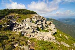 Βουνό Gora Babia, Πολωνία στοκ εικόνες