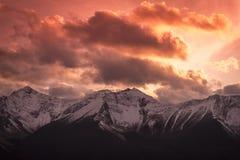 Βουνό Graudeur Rockie Στοκ φωτογραφία με δικαίωμα ελεύθερης χρήσης