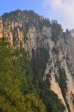 Βουνό Hua-Shan Στοκ φωτογραφία με δικαίωμα ελεύθερης χρήσης