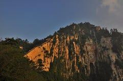 Βουνό Hua-Shan Στοκ Εικόνα