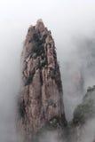 Βουνό Huangshan (κίτρινο βουνό), Κίνα Στοκ φωτογραφία με δικαίωμα ελεύθερης χρήσης