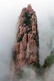 Βουνό Huangshan (κίτρινο βουνό), Κίνα Στοκ εικόνα με δικαίωμα ελεύθερης χρήσης