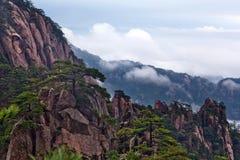 Βουνό Huangshan (κίτρινο βουνό) στην επαρχία Anhui, Κίνα Στοκ φωτογραφία με δικαίωμα ελεύθερης χρήσης