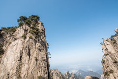 Βουνό Huangshan (κίτρινο βουνό) Στοκ εικόνες με δικαίωμα ελεύθερης χρήσης