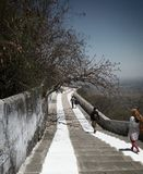 Βουνό Jain Στοκ Φωτογραφίες