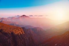 Βουνό Jais Jebel στο Ras Al Khaimah στοκ φωτογραφία με δικαίωμα ελεύθερης χρήσης
