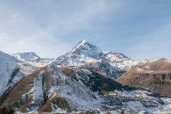 Βουνό Kazbek Στοκ φωτογραφία με δικαίωμα ελεύθερης χρήσης