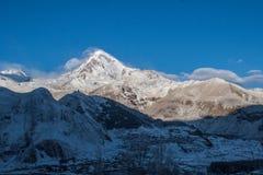 Βουνό Kazbek Στοκ φωτογραφίες με δικαίωμα ελεύθερης χρήσης