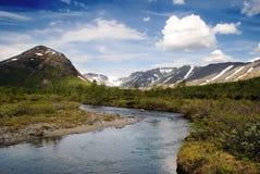 Βουνό Khibiny Στοκ φωτογραφία με δικαίωμα ελεύθερης χρήσης