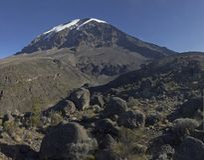 βουνό kilimanjaro Στοκ Εικόνες