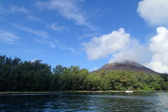 Βουνό Krakatoa Στοκ Φωτογραφίες
