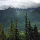 Βουνό Lanscape βόρειων καταρρακτών Στοκ Εικόνες