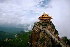 Βουνό Laojun σε Luoyang στοκ εικόνα