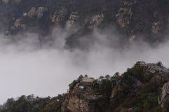 Βουνό Lushan στο σύννεφο Στοκ Εικόνες