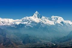 Βουνό Machhapuchchhre Στοκ φωτογραφία με δικαίωμα ελεύθερης χρήσης
