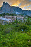 Βουνό Notchtop Στοκ Εικόνες