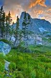 Βουνό Notchtop Στοκ φωτογραφία με δικαίωμα ελεύθερης χρήσης