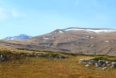 Βουνό Oshten Στοκ φωτογραφίες με δικαίωμα ελεύθερης χρήσης
