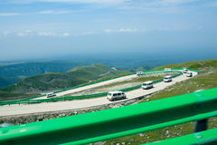 Βουνό PanShanDao Changbai Στοκ Εικόνες