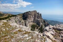 βουνό petri AI Κριμαία στοκ εικόνα με δικαίωμα ελεύθερης χρήσης