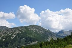 Βουνό Retezat, Ρουμανία Στοκ Εικόνα