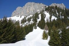 Βουνό Rote Flà ¼ χ Αυστρία άποψης στοκ φωτογραφίες
