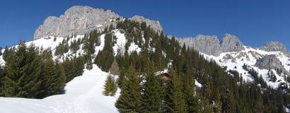 Βουνό Rote Flà ¼ χ Αυστρία άποψης στοκ φωτογραφία με δικαίωμα ελεύθερης χρήσης
